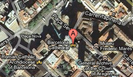 Where we meet - Cathedral of Barcelona